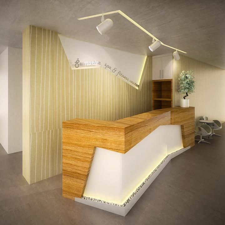 Reception Hotel Desk Interior Free Photo On Pixabay