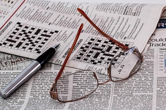 Giornale, Notizie, Media, Occhiali, Carta