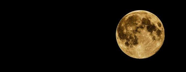 Full Moon, Moon, Night, Sky, Dark, Black