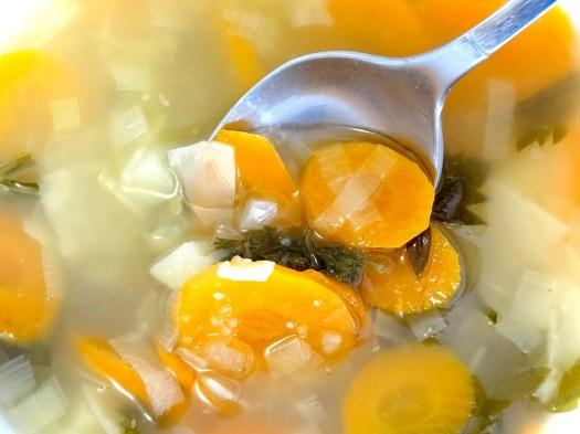Zuppa Di Verdure, Brodo, Cucchiaio, Mangiare, Cibo