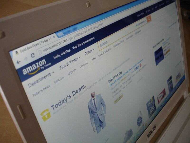 Amazon, Cuaderno, Ordenador Portátil, Móvil, Monitor