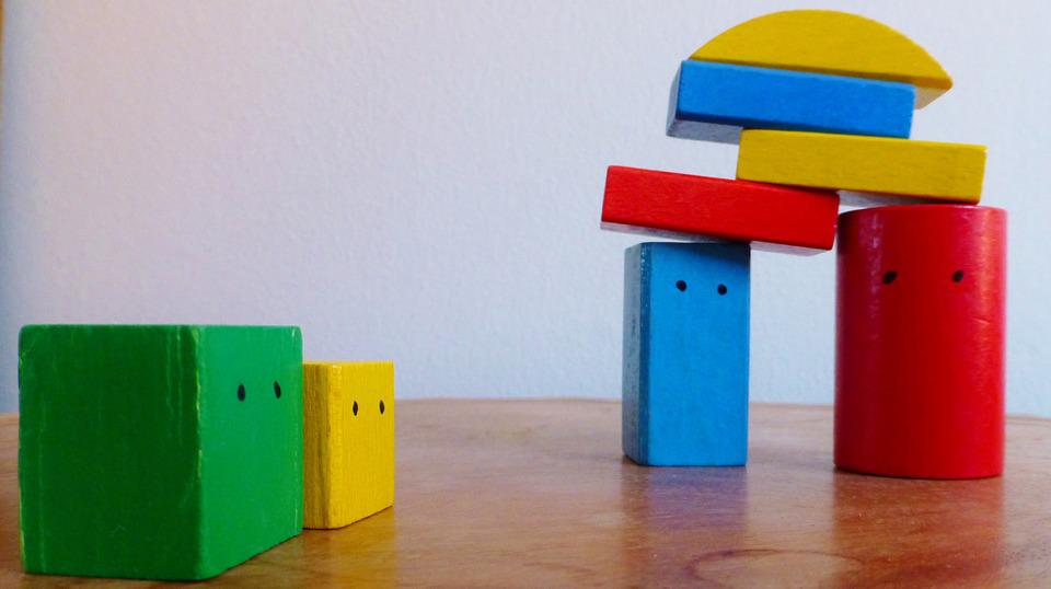 Building Blocks, Colorful, Build, Children Toys, Play