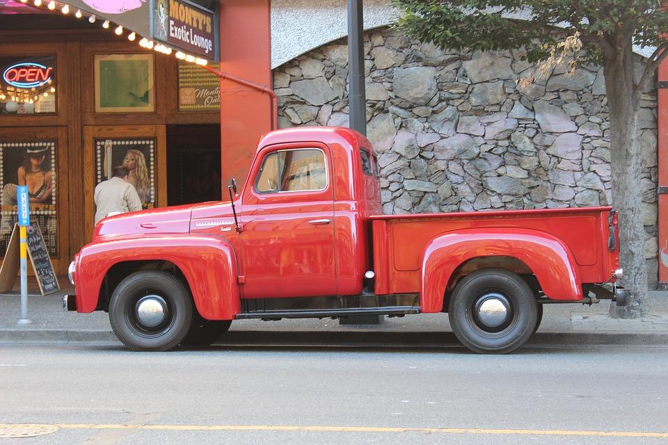 Pick Truck Coca Cola