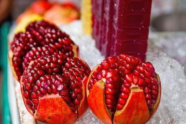 Pomegranate, Juice, Fruit, Fresh, Food