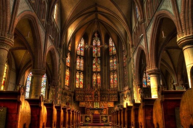 Church, Altar, Pews, Sacral Architecture