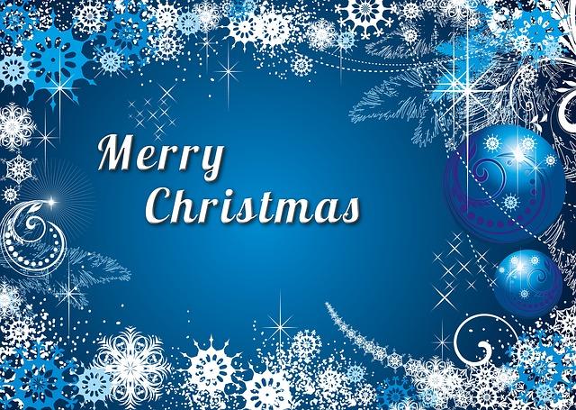 Kostenlose Illustration Weihnachten Sterne Wei Blau