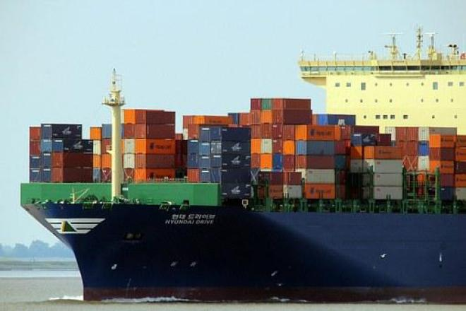 Container Ship Container Ship Charge Freig