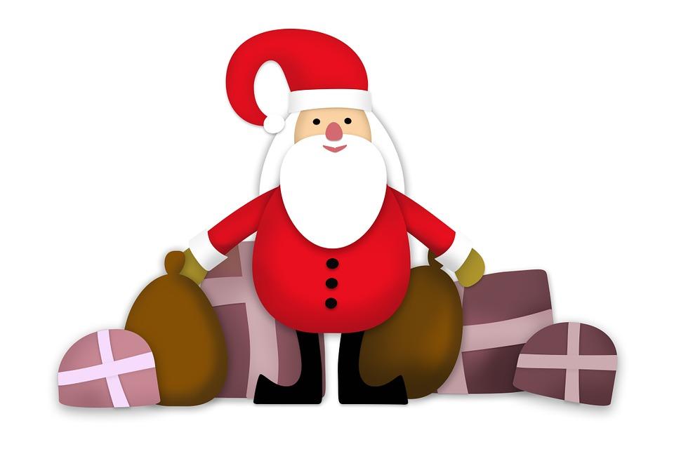 Weihnachtsgeschenk Santa Claus Kostenloses Bild Auf Pixabay