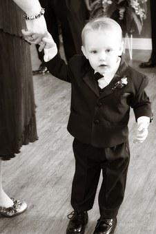 Child, Boy, Tux, Suit, Cute, Cheerful