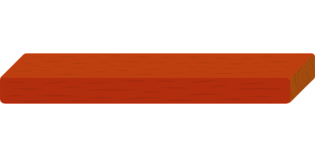 Wood, Red, Plank, Rectangle, Rectangular
