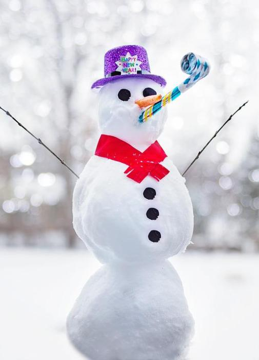 Christmas Vocabulary: Snowman, Learn English With Africa, December 2016
