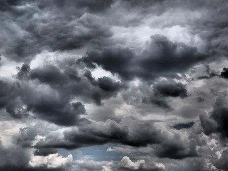 Himmel, Wolken, Düster, Dramatisch