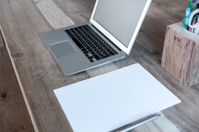 Escritório Em Casa, Computador Portátil, Notebook