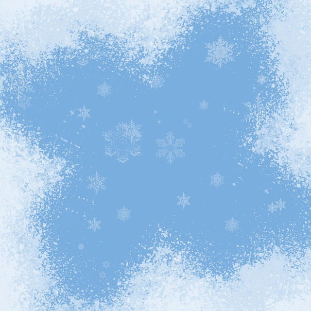 Free Illustration Snowflakes Blue Winter Cold Free