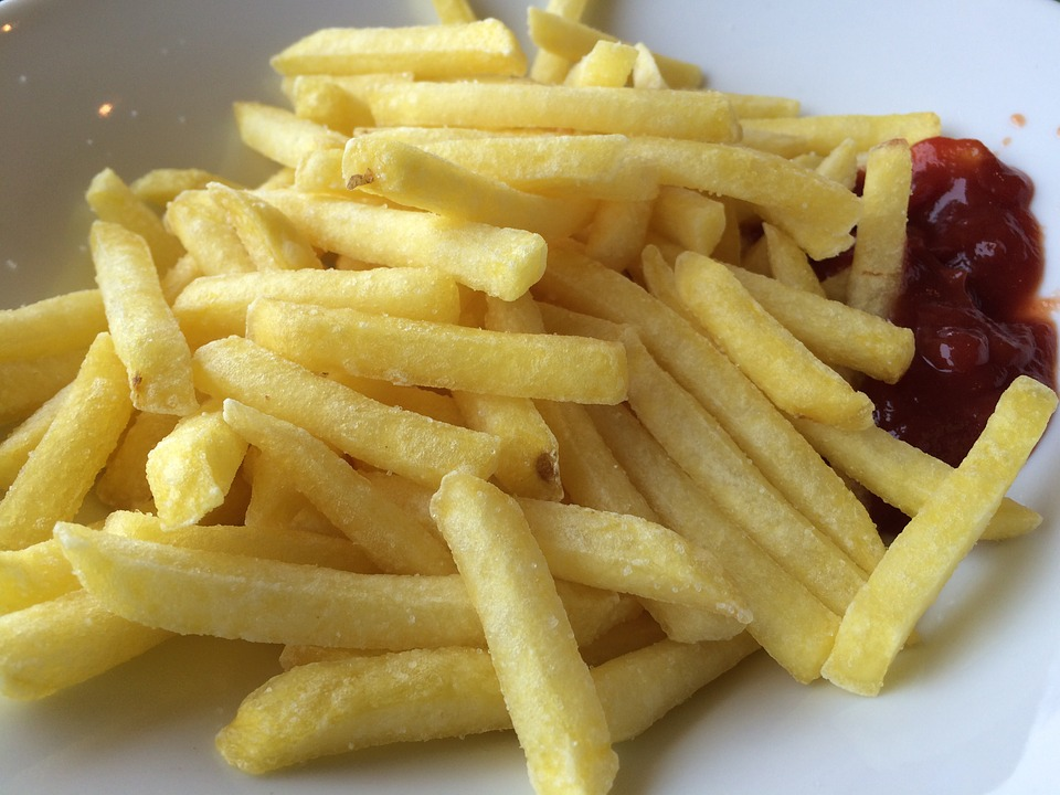 French Fries, Ketchup, Fast Food, French, Eat, Food