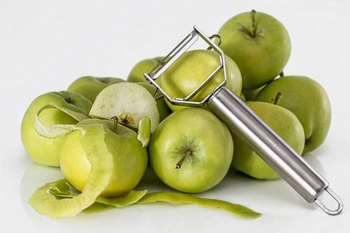 Apple, Peeler, Fruit, Green, Healthy