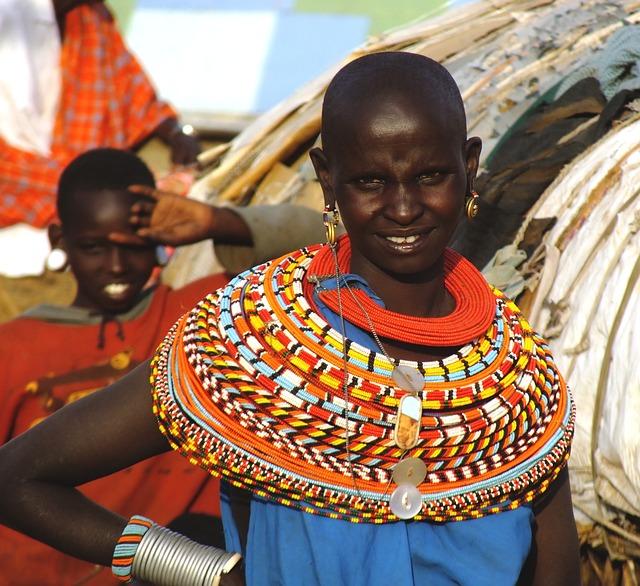 Free Photo African Woman Samburu Tribe Kenya Free