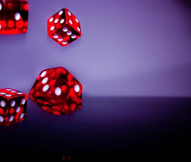 Cube Red Fall Random Lucky Number Play Lucky Dice
