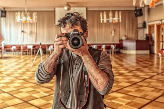 Fotografo, Macchina Fotografica, Fotografia, Lente