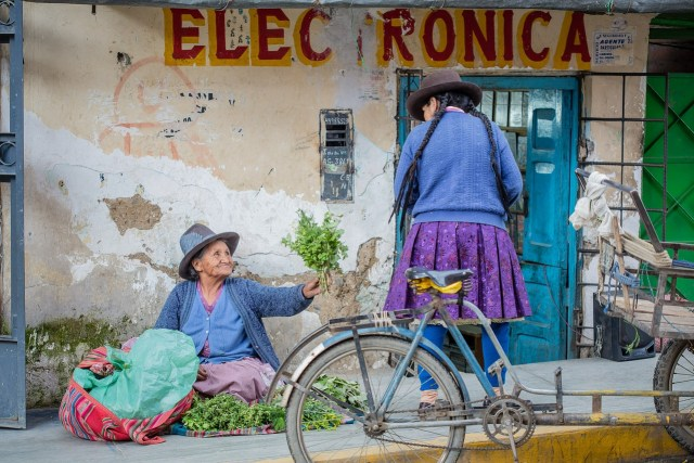 Anciana Peru