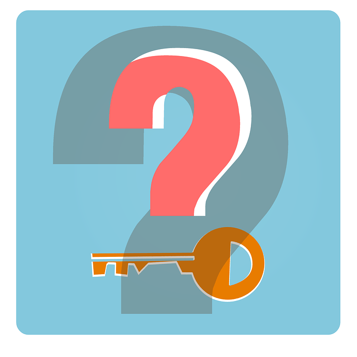 Free Illustration Key Security Icon Question Mark