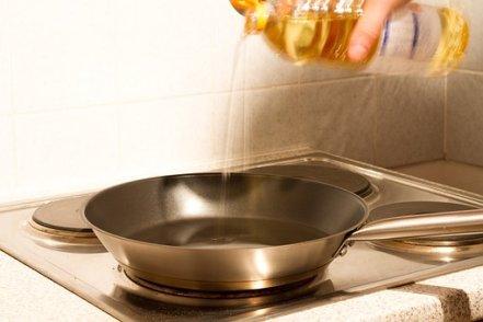 パン, 油, キッチン, 熱, 焼け焦げ, 調理する, フライパン, 脂肪