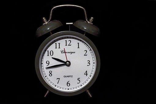 Reloj, Despertador, Bell, Dial