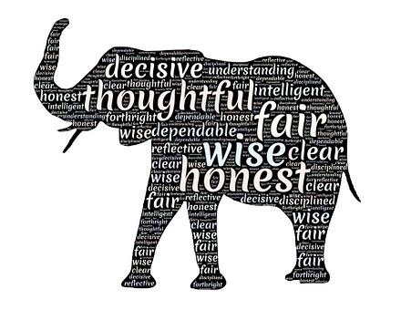 Elephant, Totem Animal, Qualities