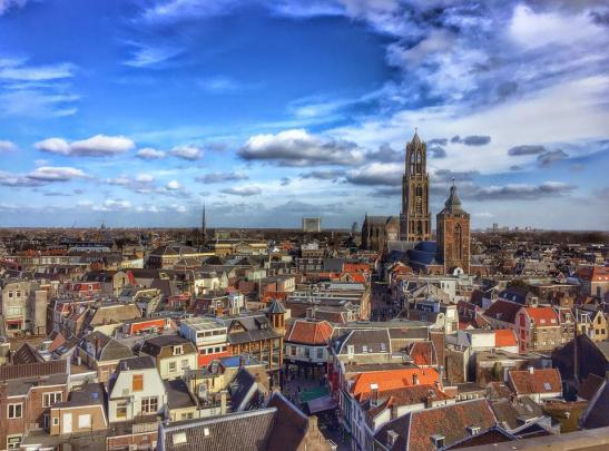 Utrecht, Netherlands, Dom Tower, Cathedral Square