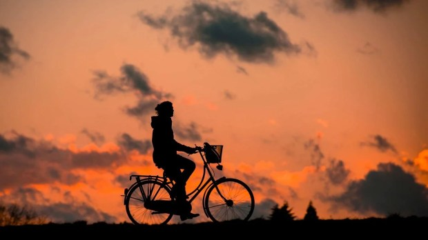Cycling boosts the mood and makes you feel better.