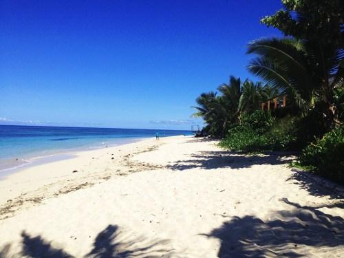 Sea, Beach, Palms, Fiji, Tokoriki Island, Boula