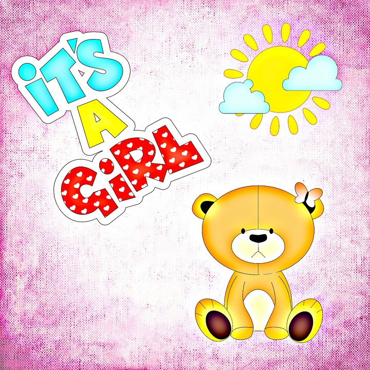 Bayi Kelahiran Gadis Kartu Gambar Gratis Di Pixabay