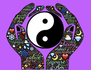 Alive, Awake, Aware, Hands, Yin, Yang, Duality, Tao