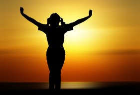 Person, Woman, Girl, Human, Joy, Sunset