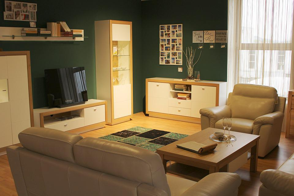 Wooden Furniture Materials - Living room design