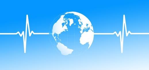 Globe, Earth, Heart Rate, Pulse, Health, Disease