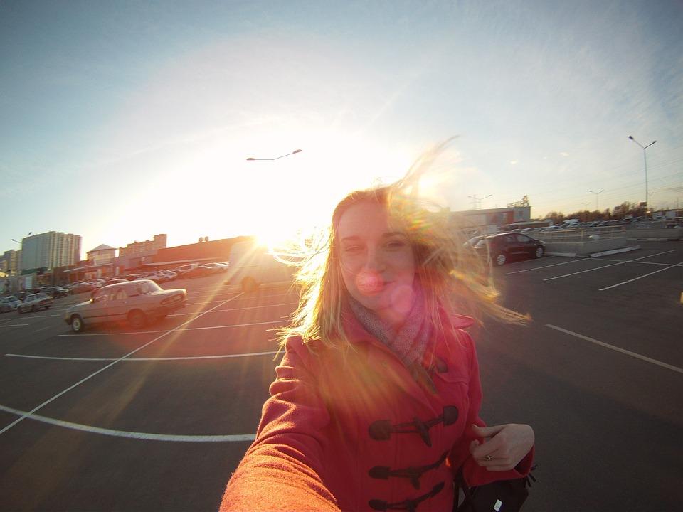Free Photo Girl Blonde Portrait Selfie Free Image On