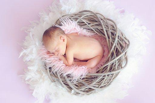 Baby, Sleeping Baby, Baby Girl, Newborn