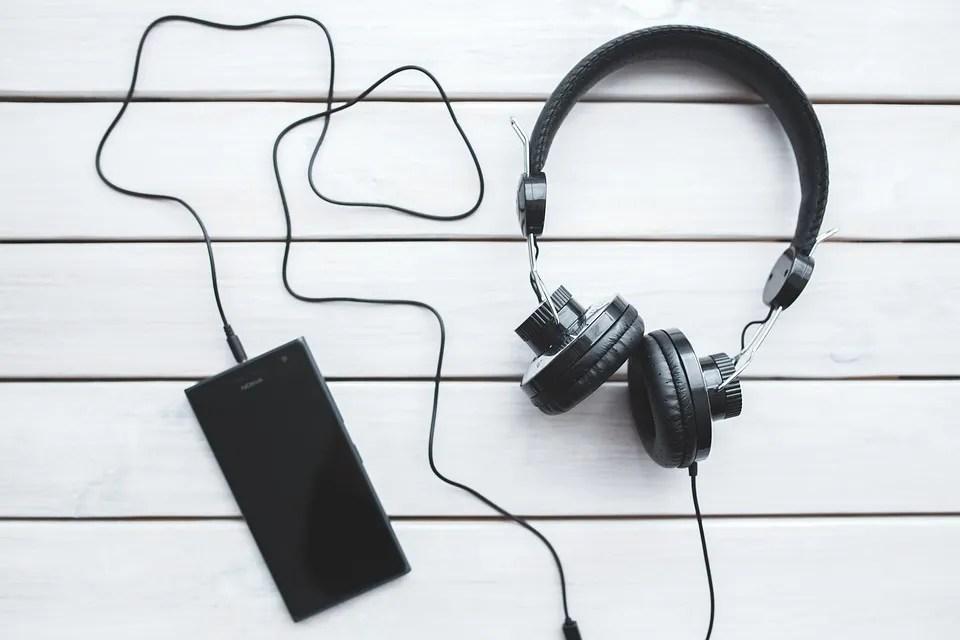 Cuffie, Smartphone, Tecnologia, Musica, Ascolto, Black