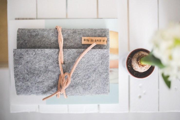 Journal, Notebook, Note, Felt, Organizer, Calendar