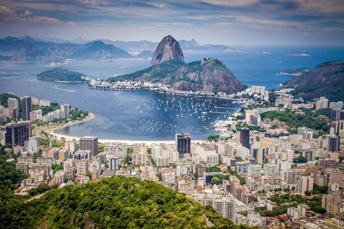 Rio De Janeiro, Brasil, Montaña, El Turismo, Paisaje