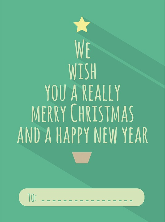 Illustrazione Gratis Natale Biglietto Auguri Immagine
