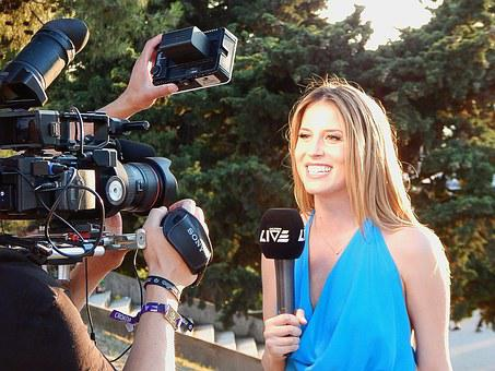 Reporter, Camera, Journalist, Media