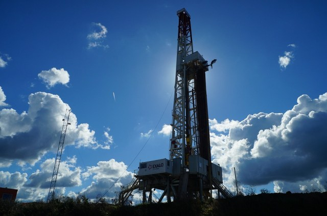 Gas, Oil Rig, Drilling Rig
