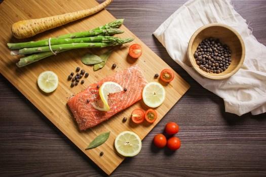 Cibo, Foodie, Cuocere In Forno, Salmone, Di Pesce
