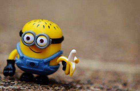 Minion, Drôle, Jouets, Les Enfants