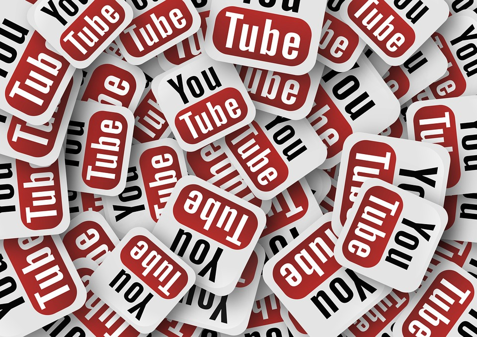 You Tube, Icon, Play Button, Logo, Red, Media