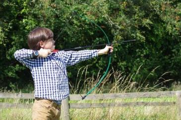 Archery, Boy, Arrow, Aiming, Weapon