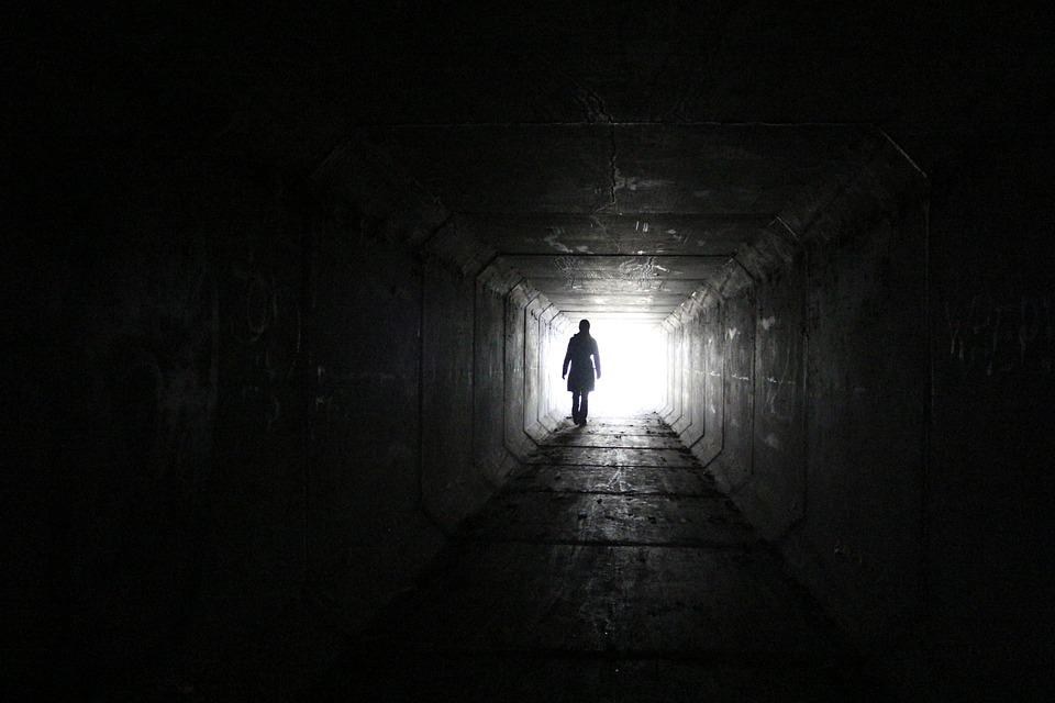 Free Photo Tunnel Silhouette Mysterious Free Image On
