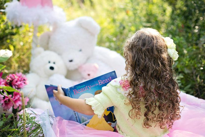 You can read aloud to your cuddly toys!